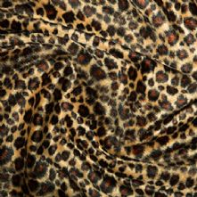 Velboa Leopard Short Pile Fun Fur